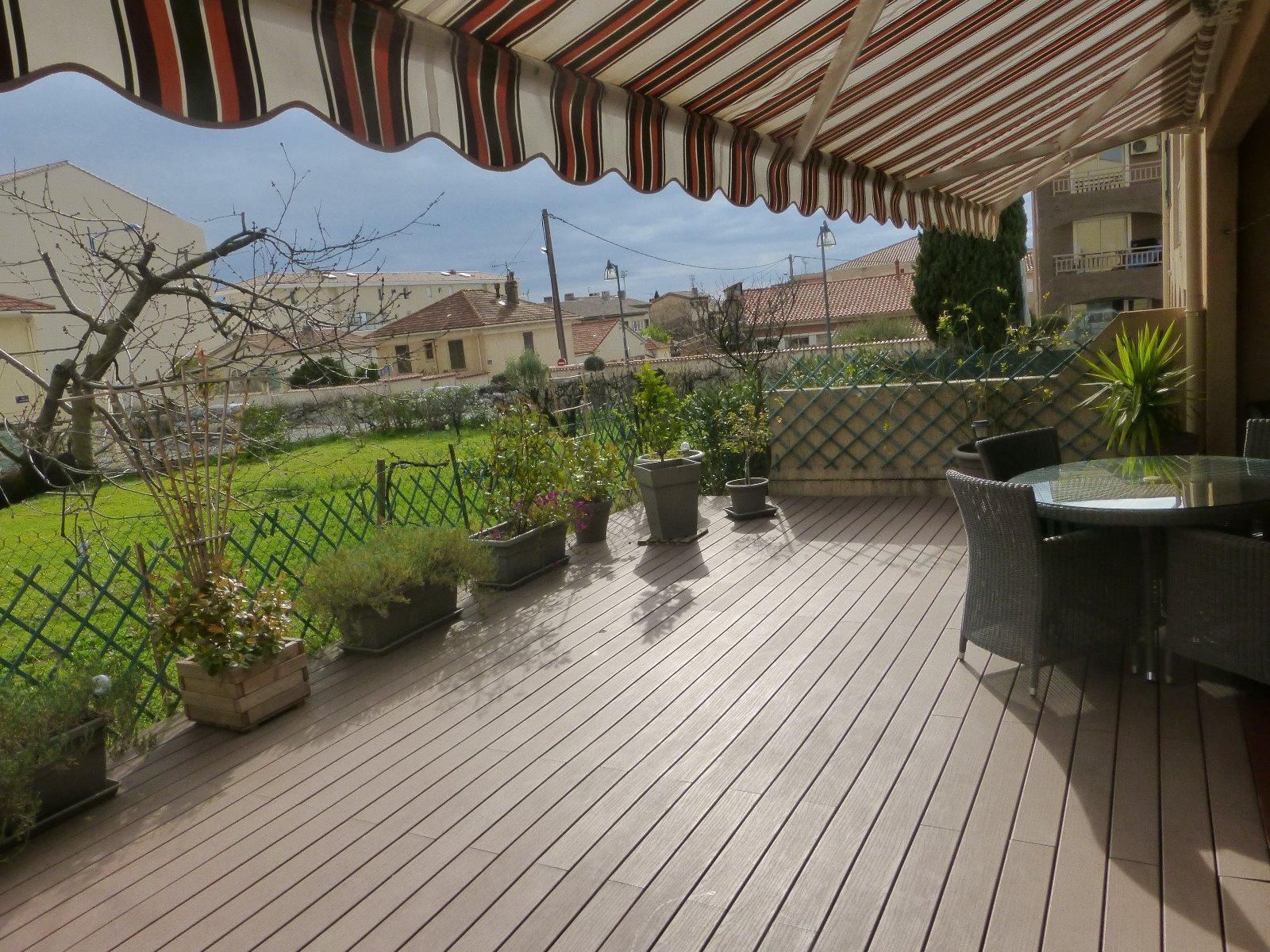 Vente rez de jardin en centre ville grande terrasse - Terrasse jardin ville tours ...